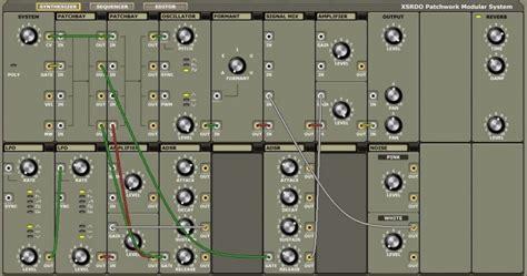 Patchwork System - xsrdo patchwork modular system vsti plugin free