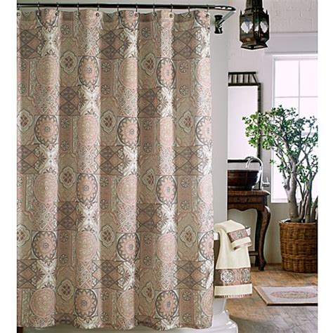 j queen shower curtain buy j queen casablanca 72 inch x 72 inch fabric shower