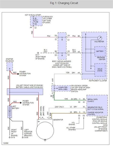 voltage regulator wiring diagram 2004 chevy suburban