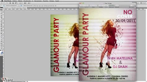 Tutorial Photoshop Cs5 Flyer | crea un flyer para tu fiesta tutorial photoshop cs5