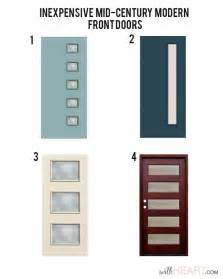 Mid Century Modern Front Doors Modern Front Door Options Withheart