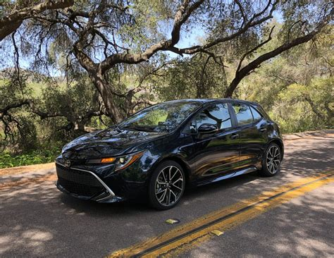 Toyota Hatchback 2019 by 2019 Toyota Corolla Turbo Review New Review