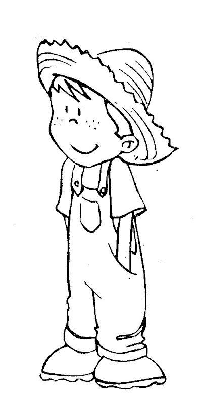 farm boy coloring pages pattern coloring pages kids