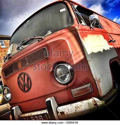 old rusty volkswagen rusty vw van stock photos rusty vw van stock images alamy