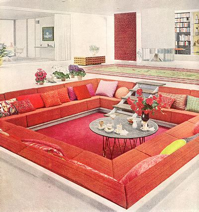 conversation pit sectional 1000 images about conversation pits on pinterest