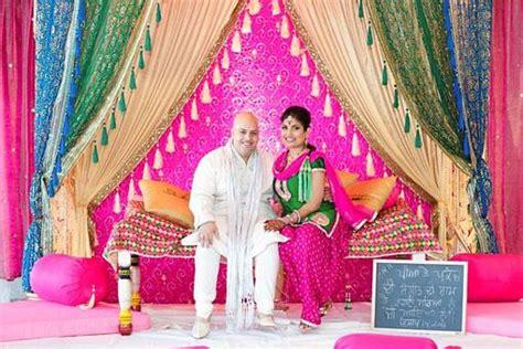 themes indian girl punjabi village themed sangeet