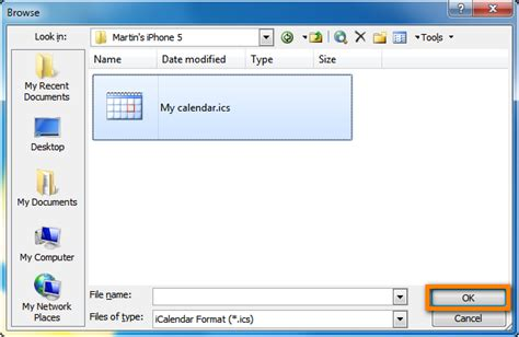 I Calendar In Outlook How To Import Iphone Calendar To Outlook