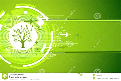 abstract green nature background stock vector image