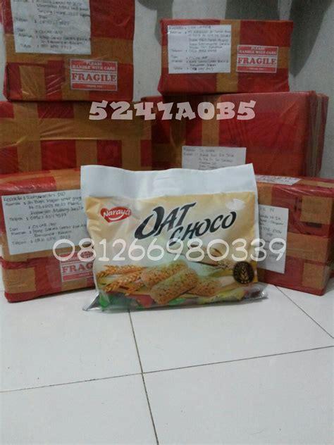 Oat Choco Naraya Rasa Pandan jual naraya oat choco isi 40pcs oscar import