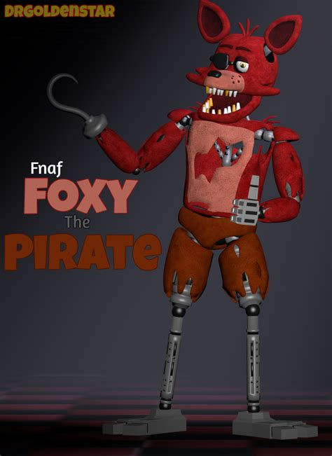 freddys foxy 2 nights at five sfm foxy the pirate by drgoldenstar on deviantart