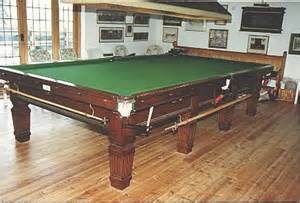 bar pool table sizes