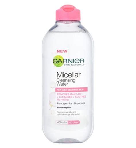 Toner Garnier Micellar Water Battle Of The Micellar Waters Which Works Best