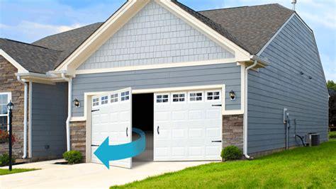 garage door type garage door buying guide garage door opening types