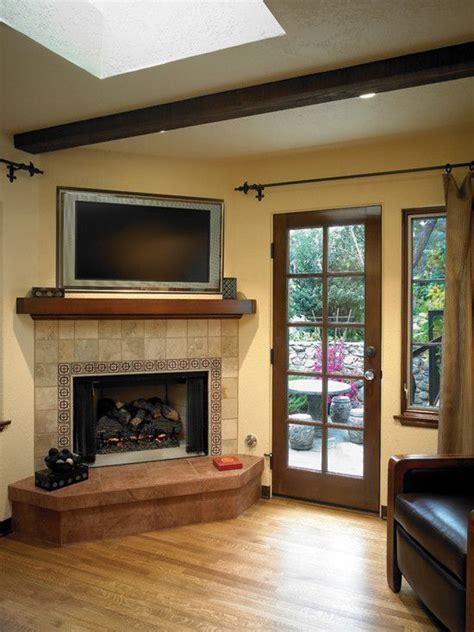 corner fireplace designs with tv above corner fireplace design home ideas