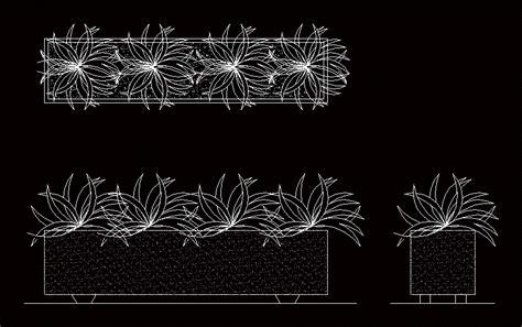 planter box dwg plan  autocad designs cad