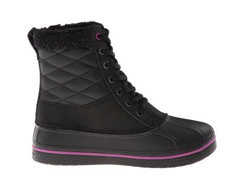 zappos duck boots crocs all cast waterproof duck boot zappos free