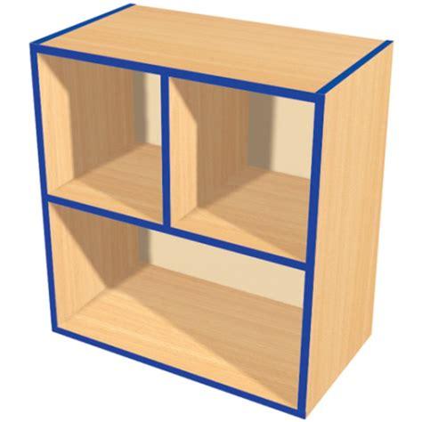 open shelf kubbykurve two tier 2 1 open shelf unit teacher tidy