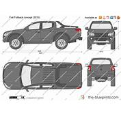 The Blueprintscom  Vector Drawing Fiat Fullback Concept