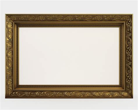 frame for pictures frame picture classic 3d model