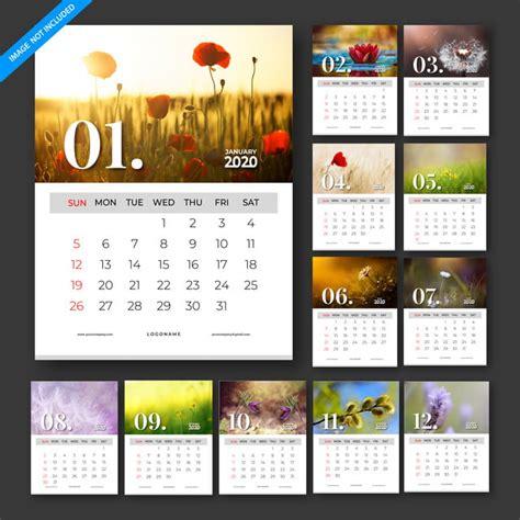 calendar  vector template design set   months template     pngtree
