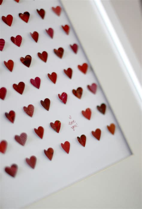 Craft Paper Hearts - creatively my paper