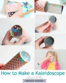 Learn how to easily make a kaleidoscope using items you probably have
