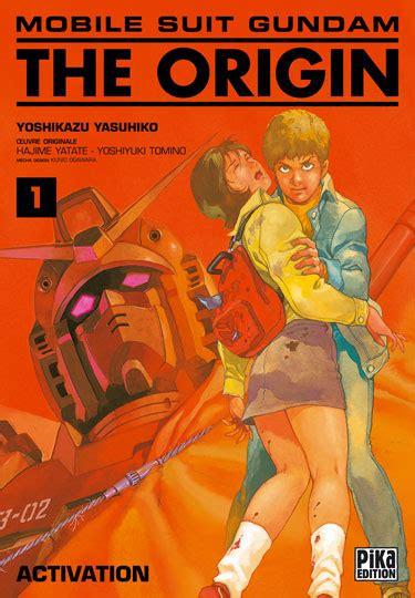 mobile suit gundam the origin vol 1 vol 1 mobile suit gundam the origin activation