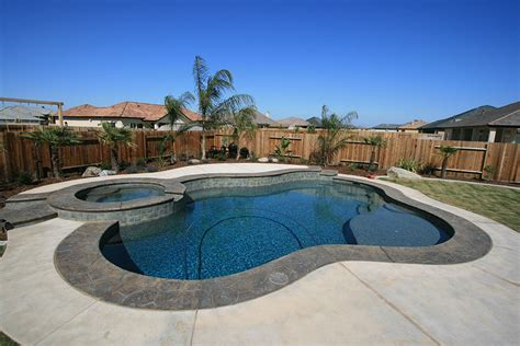 custom pool and spa gallery paradise pools and spas bakersfield