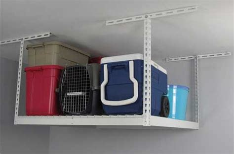 Garage Storage Reviews 10 Best Overhead Garage Storage Shelves Reviews In 2017