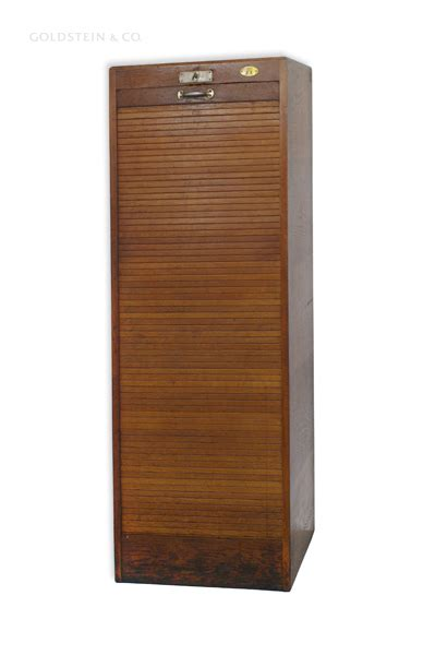 Roll Front Cabinet Doors Wooden Roll Front Filing Cabinet For Sale At Pamono