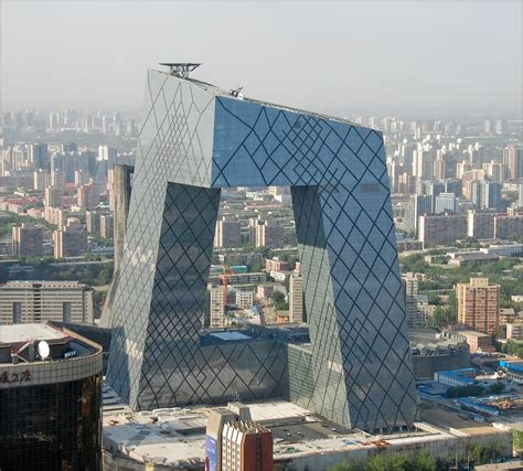 Top Architects by Koolhaas Rem Cctv Headquarters Architecture Sculpture