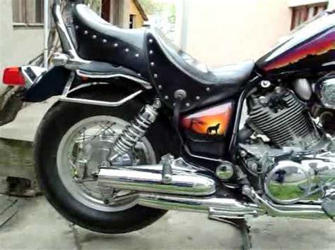 orange crush plan b s yamaha xv 750 makeover yamaha virago 750 custom exhaust hobbiesxstyle