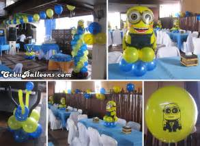 minions supplies minions despicable me cebu balloons and supplies