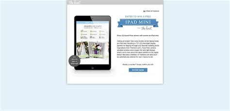 Right This Minute Ipad Giveaway - ipad mini sweepstakes