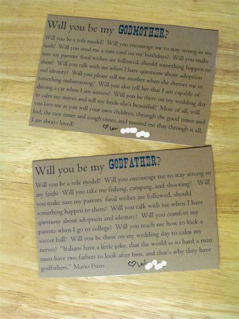 Sponsor Letter Godparent Godparent Ideas On Asking Godparents Godparent Gifts And Godmother Gifts