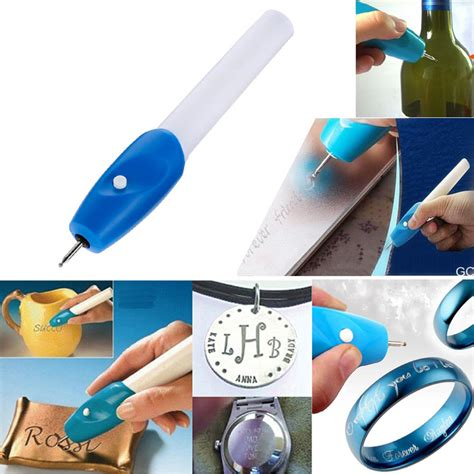 Alat Ukir Engrave It Electric Carve Tool Pen 1pc mini engraving pen electric jewellery glass wood engraver carving pen machine grave tool in