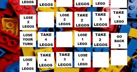 printable lego board games lego game board printable download lego activities