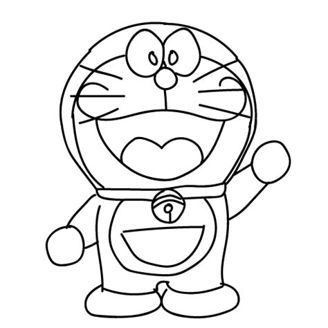 Bunga Doraemon Size vectorkotor