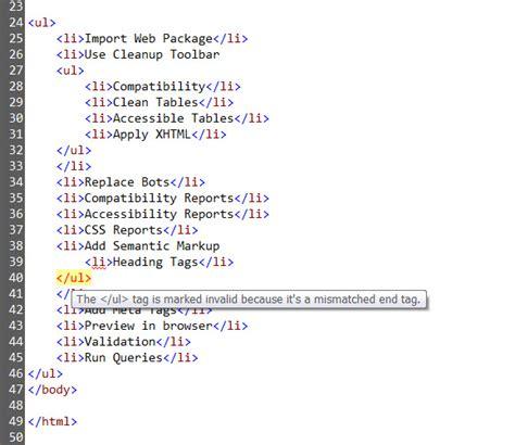 printable html tag list image gallery nesting html