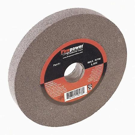 bench grinder wheel types firepower type 1 bench grinding wheel 6 quot x 3 4 quot 80 grit fpw1423 2312 advance auto parts