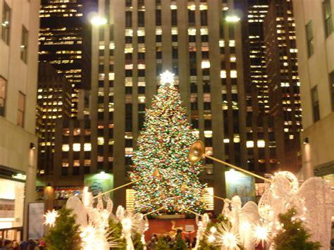 bild quot der weihnachtsbaum vorm rockefeller center quot zu