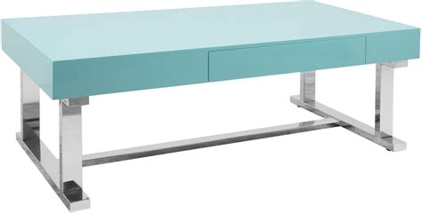 light blue table l luster light blue coffee table from lumisource coleman