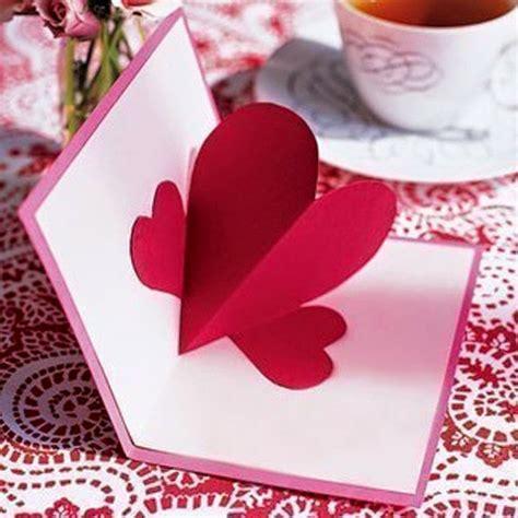 como hacer manualidades de san valentin 15 manualidades tarjeta con coraz 243 n 3d para san valent 237 n lodijoella