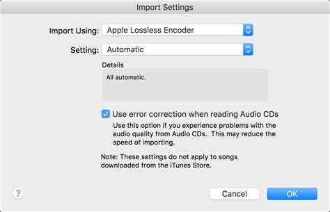 cd format error the complete guide to using itunes with lossless audio