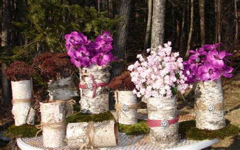 rustic wedding centerpieces that you can make rustic