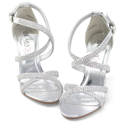 silver heels for wedding wedding silver heels is heel