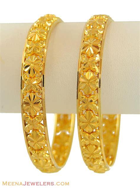 pattern of gold bangles fancy gold bangles 22k bago8750 22k gold bangles