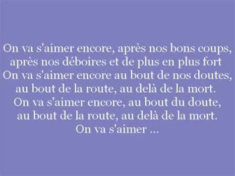 vincent valli 232 res on va s aimer encore lyrics
