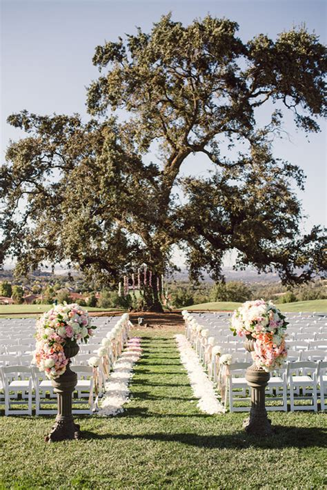 classically elegant pink and black wedding