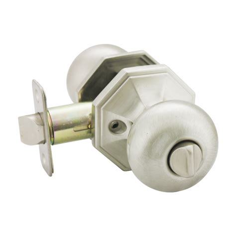 Discount Door Knobs by Stanton Privacy Discount Door Knob Satin Nickel